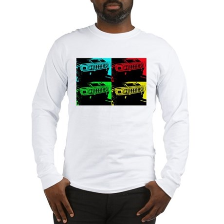 Hummer Pop Art - 303 Long Sleeve T-Shirt