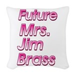 Future Mrs Woven Throw Pillow