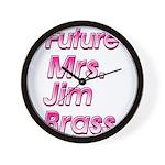 Future Mrs Wall Clock