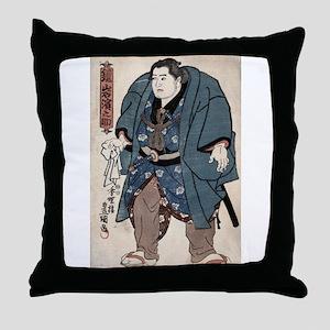 Sumo Wrestler Kagamiiwa Hamanosuke - Toyokuni Utag
