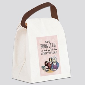 My Book Club Canvas Lunch Bag