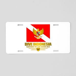 Dive Indonesia Aluminum License Plate