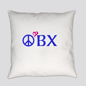 Outer Banks, OBX, Peace, love, Everyday Pillow