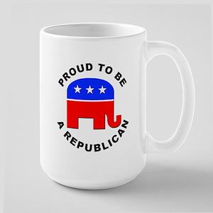 Proud Republican Large Mug