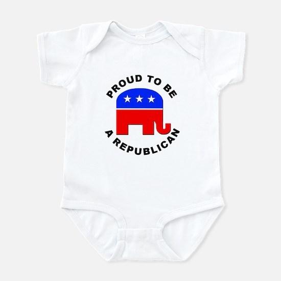 Proud Republican Infant Bodysuit