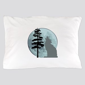 wolfmoongray Pillow Case