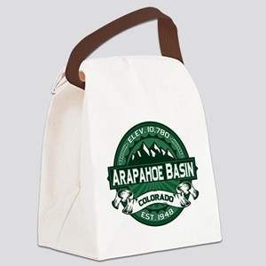 Arapahoe Basin Forest Canvas Lunch Bag