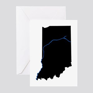 Indiana Greeting Cards (Package of