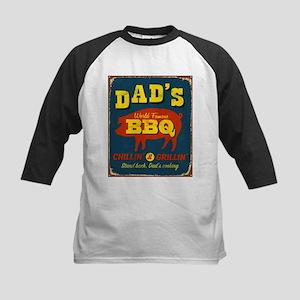 Vintage metal sign - Dad's - Kids Baseball Jersey