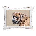 Tosa Inu Rectangular Canvas Pillow
