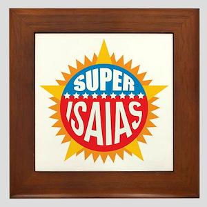 Super Isaias Framed Tile