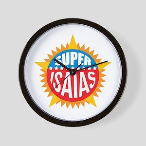 Super Isaias Wall Clock