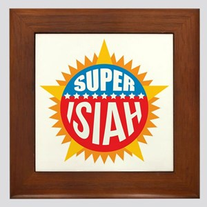 Super Isiah Framed Tile