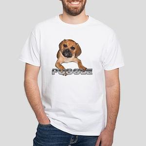puggle bite White T-Shirt