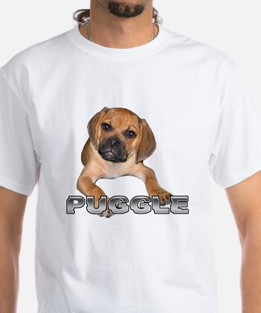 puggle bite White T-Shirt