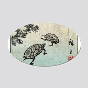 Turtles - Hiroshige Ando - c1850 - woodcut 20x12 O