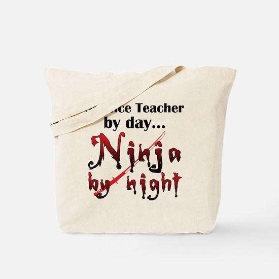 Science Teacher Ninja Tote Bag