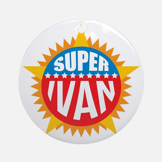 Super Ivan Ornament (Round)