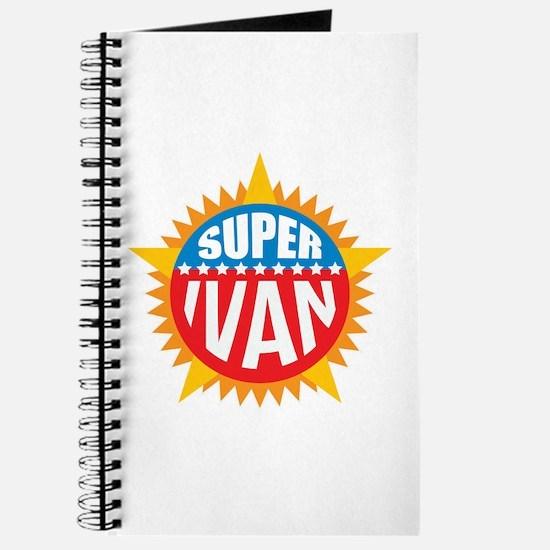 Super Ivan Journal