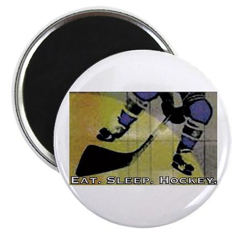 Eat.Sleep.Hockey. Magnet