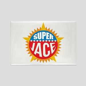 Super Jace Rectangle Magnet