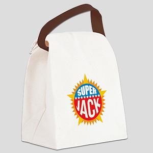 Super Jack Canvas Lunch Bag