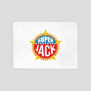 Super Jack 5'x7'Area Rug