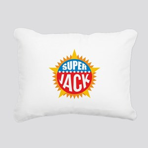 Super Jack Rectangular Canvas Pillow