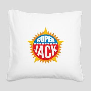 Super Jack Square Canvas Pillow