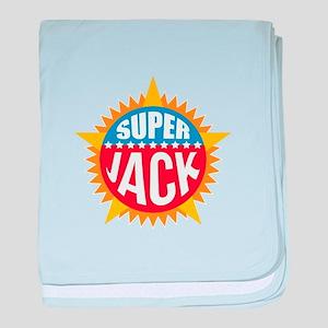 Super Jack baby blanket