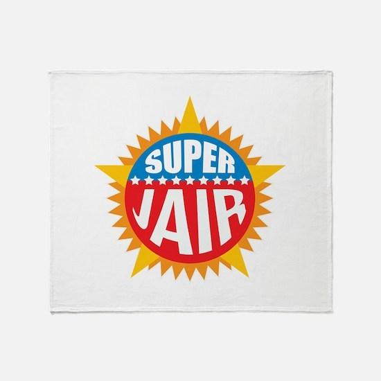Super Jair Throw Blanket