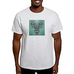 Feathered Serpent Ash Grey T-Shirt