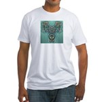 Feathered Serpent Fitted T-Shirt