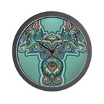 Feathered Serpent Wall Clock