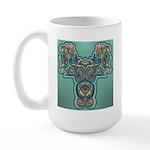 Feathered Serpent Large Mug