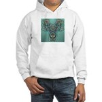 Feathered Serpent Hooded Sweatshirt