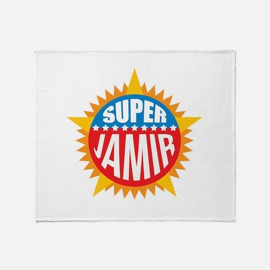Super Jamir Throw Blanket