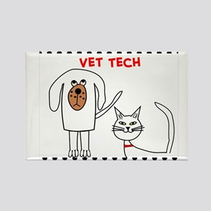 Vet Tech pillow Rectangle Magnet