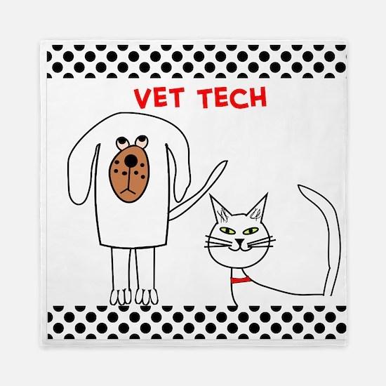 Vet Tech pillow Queen Duvet