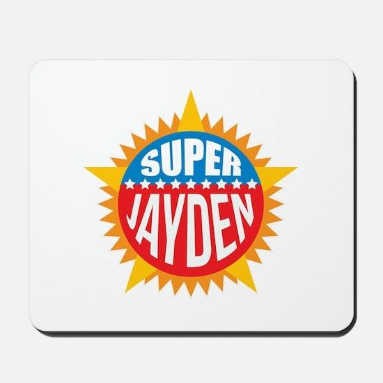 Super Jayden Mousepad