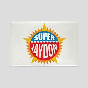 Super Jaydon Rectangle Magnet