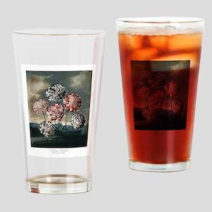 A Group og Carnations Drinking Glass