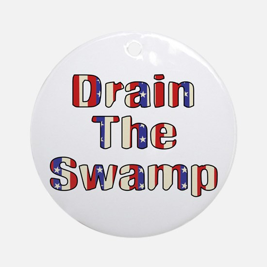 Drain The Swamp: Phase Two Ornament (Round)