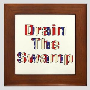 Drain The Swamp: Phase Two Framed Tile