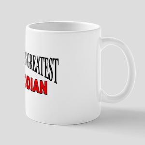 """The World's Greatest Custodian"" Mug"