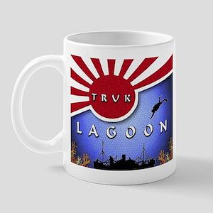 Truk Lagoon Wreck Diver Origi Mug