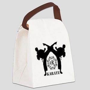 KARATE keri 4 Canvas Lunch Bag