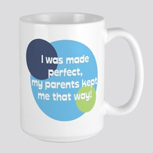 Born Perfect Large Mug
