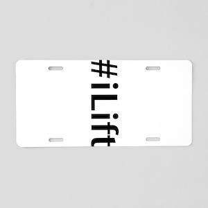 iLift Aluminum License Plate