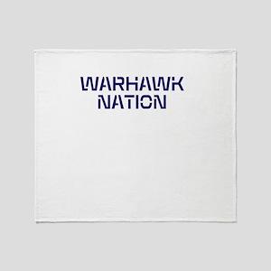 WARHAWK NATION Throw Blanket
